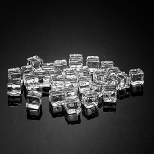 沉水 方形 假冰塊 1 cm (100粒)