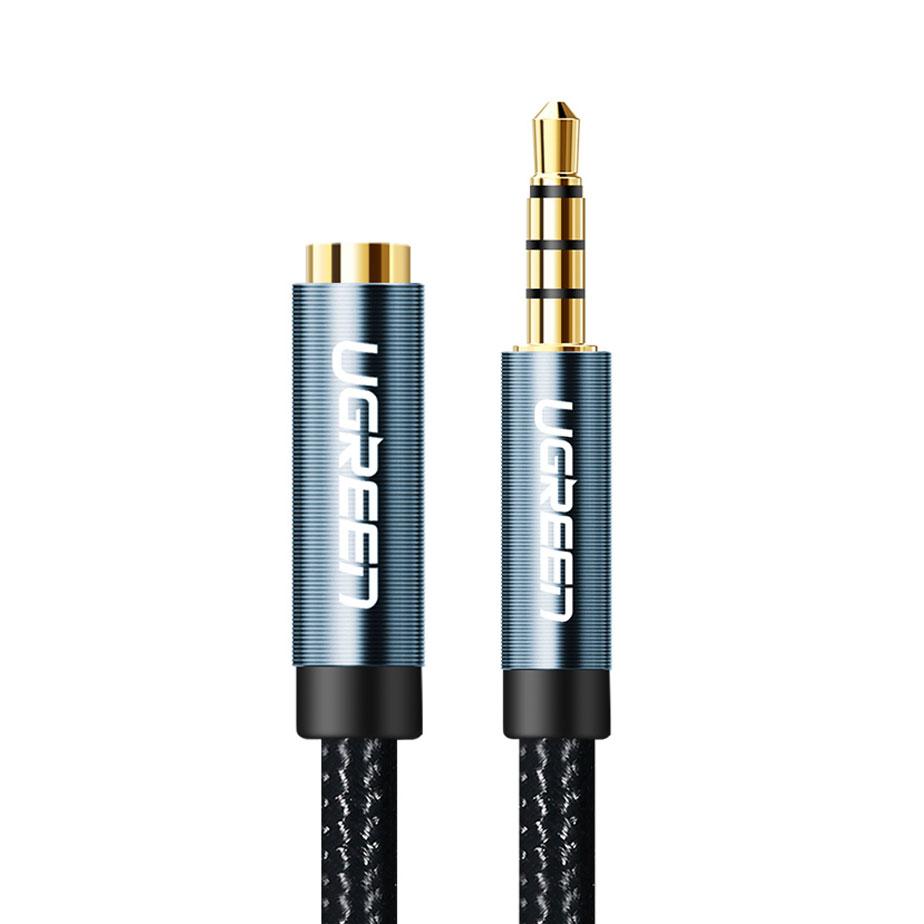 3.5mm公對母AUX音頻延長線2米