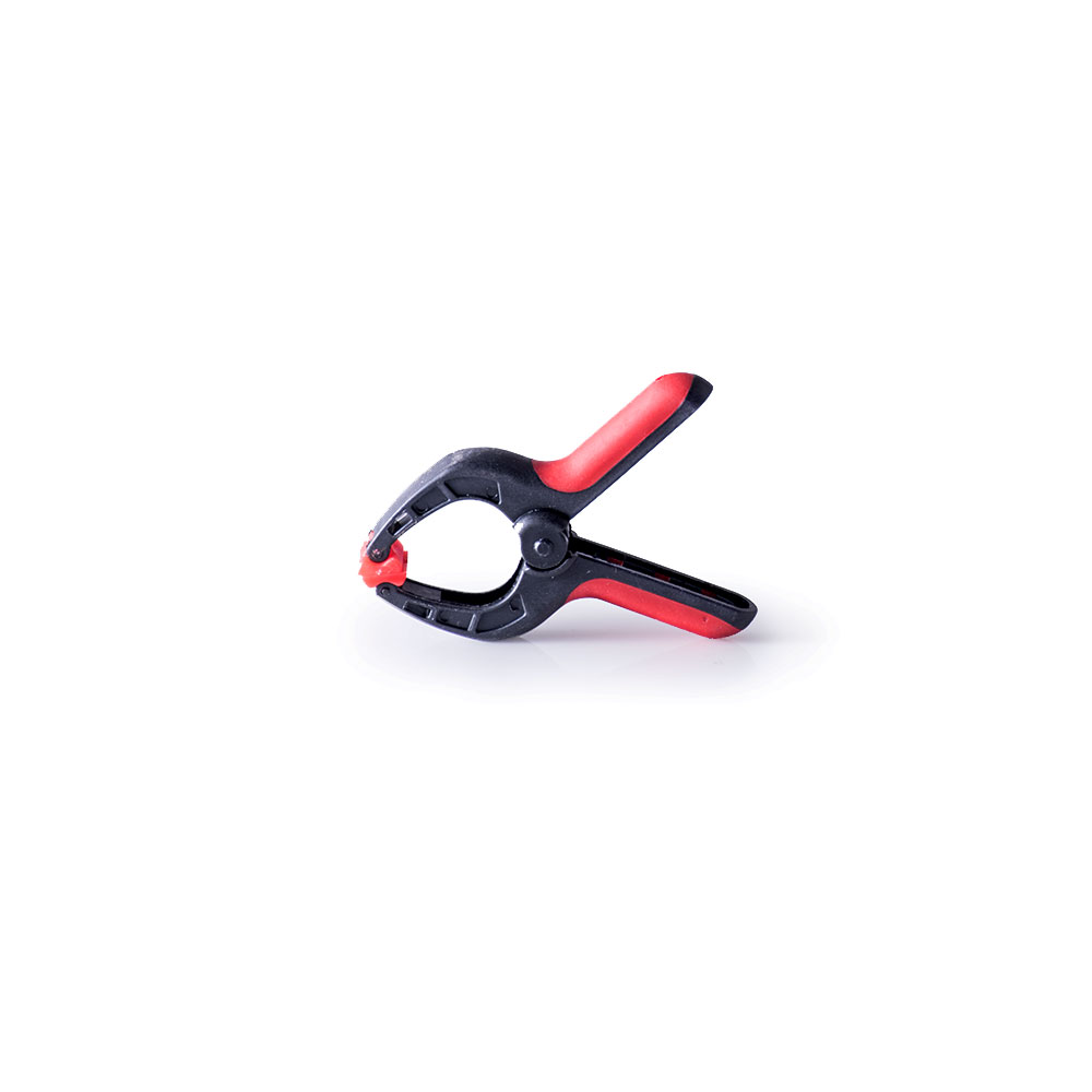 尼龍萬用大力夾(3吋)紅色
