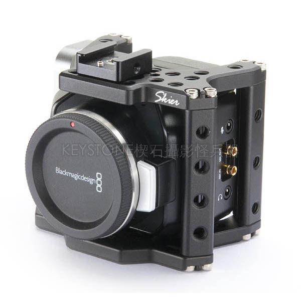 SKIER LiteCage for BlackMagic Micro Cinema Camera 提籠組