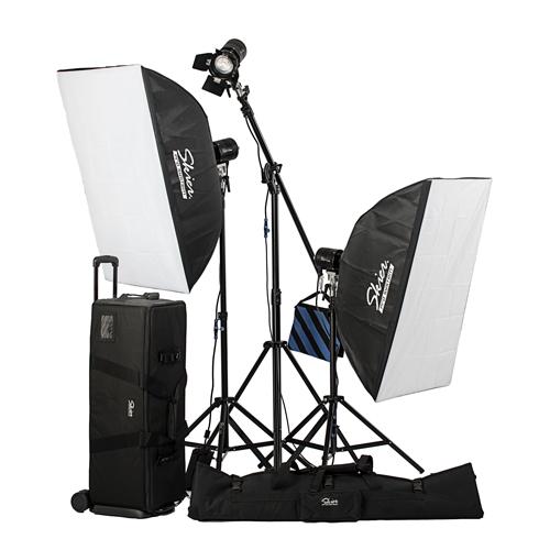 Skier Sunray 480W三燈全能攝影棚燈組