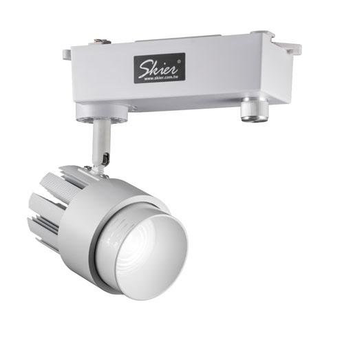 Skier 30W/5600K 調光藝術鑑賞用軌道燈(白)
