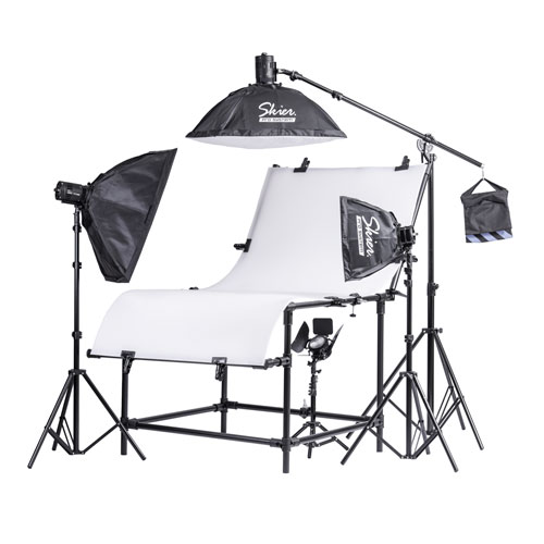 Skier Sunray 420W 中大型商品攝影套組