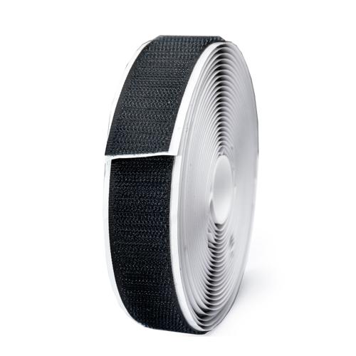 背膠魔鬼氈-鉤2.2*500cm公分(黑色)