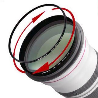 愛攝卡OWL150mm MCUV 鏡環組for Canon 600/f4