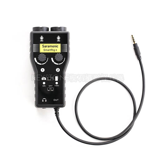 Saramonic SmartRig+ iPhone轉XLR收音介面