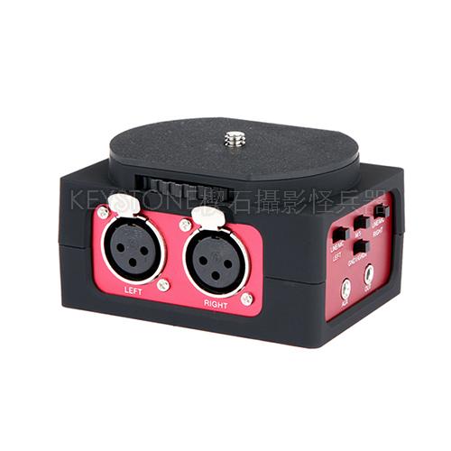 Saramonic DSLR XLR雙音道收音介面
