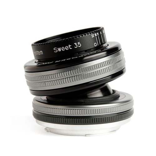 Lensbaby Composer Pro II Nikon F w/ Sweet 35 Optic