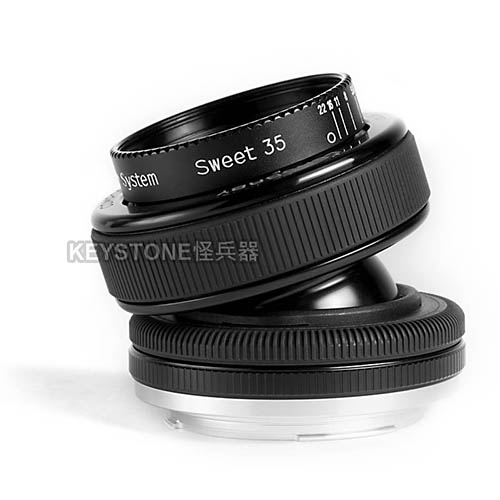 Lensbaby COMPOSER PRO w/ SWEET 35 -Canon EF