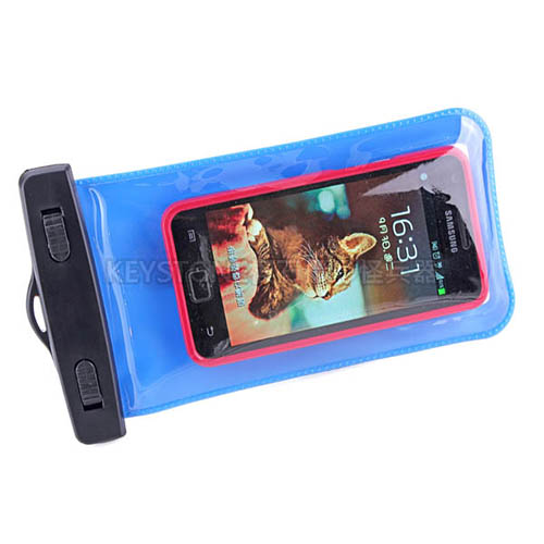 BINGO 5.5吋手機防水袋(藍)