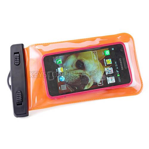BINGO 5.5吋手機防水袋(橙)