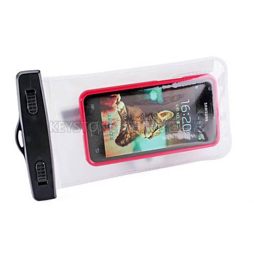 BINGO 5.5吋手機防水袋(白色)