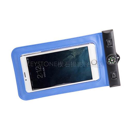 BINGO 6.5吋手機防水袋(藍)
