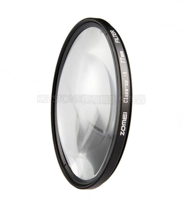 ZOMEI +8 近攝鏡 77mm