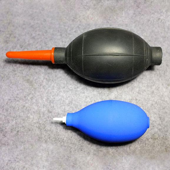藍色小吹氣球