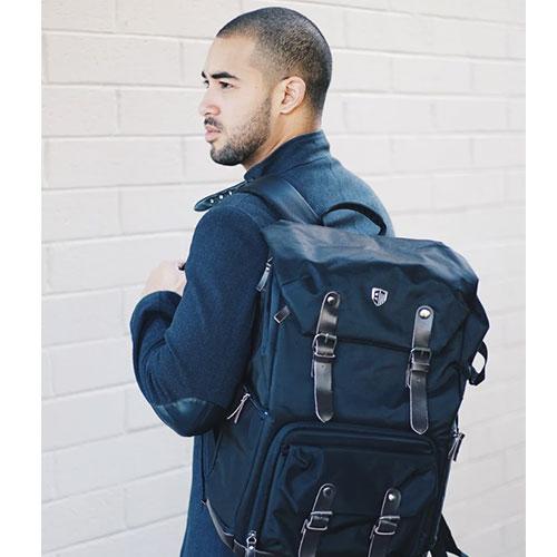 Bagsmart BOSTON 攝影後背包(黑)