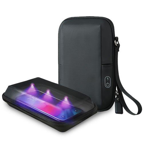 Bagsmart UV-Clean 手機消毒包(黑)