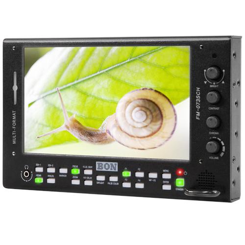 (出清商品)BON FM-073SCH 7吋螢幕(高亮度)簡配