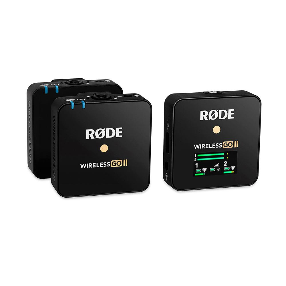 RODE Wireless GO  II 一對二微型無線麥克風