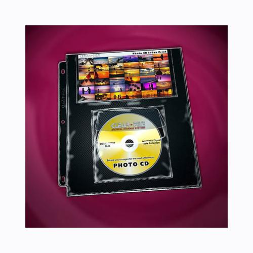 CLEAR FILE 無酸CD保存頁附目錄頁