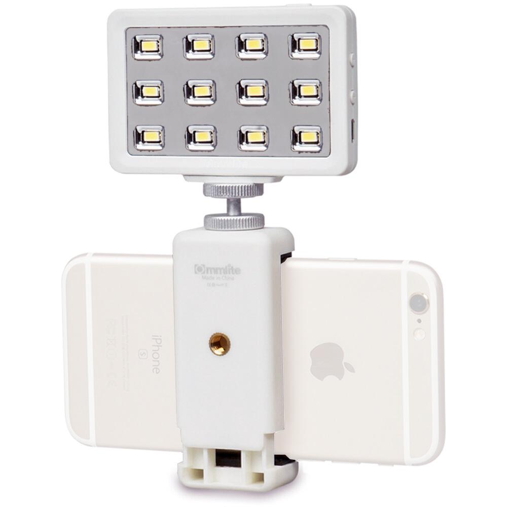 Commlite 卡片型高顯LED燈 (白)