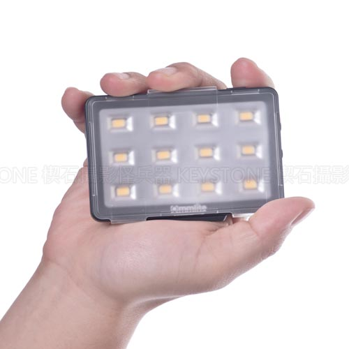 Commlite 卡片型高顯LED燈 (黑)