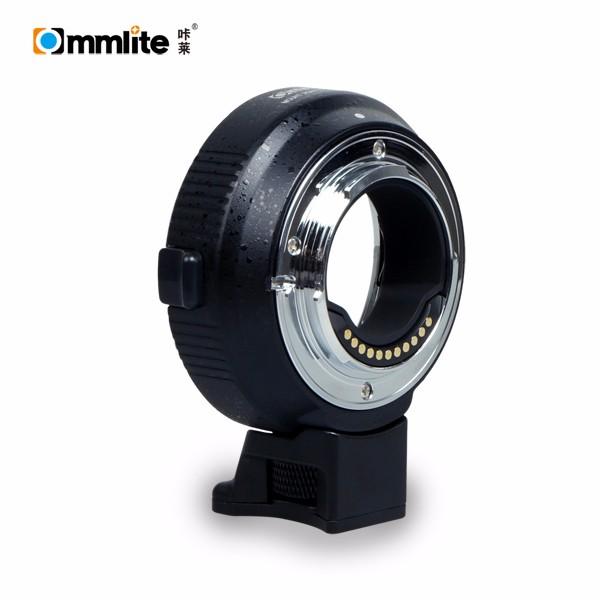 Commlite EF鏡頭轉M4/3機身電子轉接環