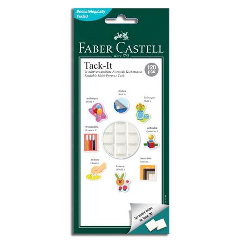 FABER-CASTELL 白色萬能黏土(75g)