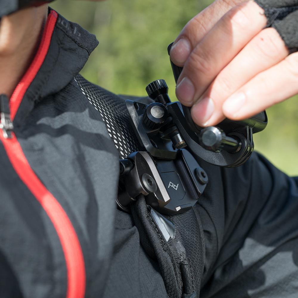 PEAK DESIGN Capture P.O.V.小型相機快夾系統 V2 銀款(GoPro適用)