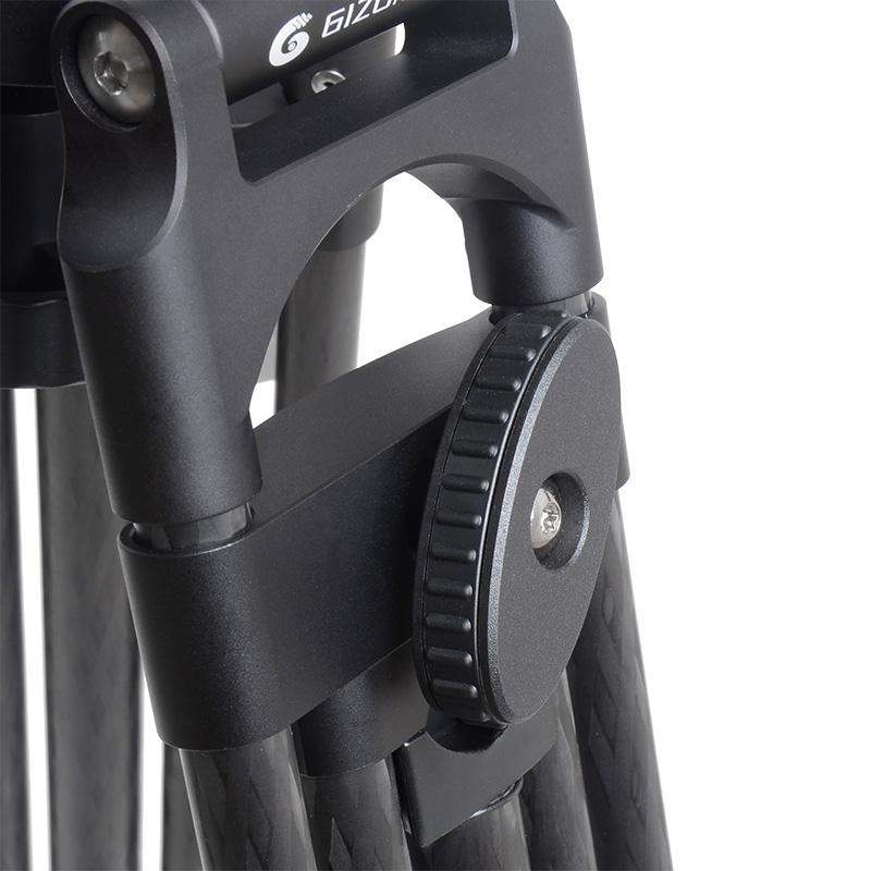 GIZOMOS G1216C 大型碳纖油壓腳架組