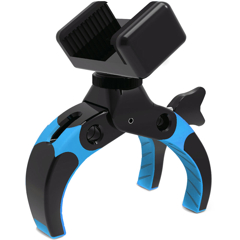 Mobile Catch 金剛王 多功能攝影夾 (含手機夾座及雲台版)(藍)