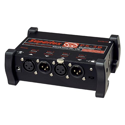 SUPERLUX PS2B 幻象電源供應器(9V*2)