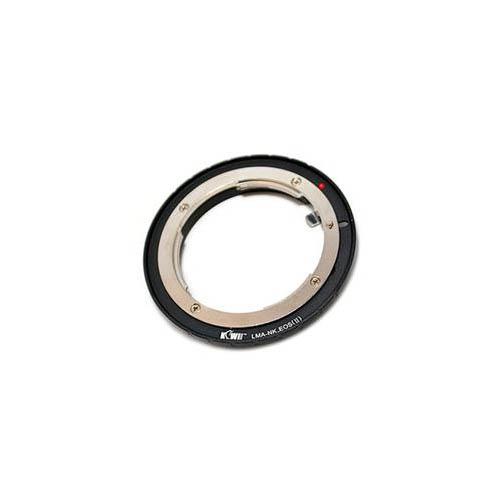 KIWI 異機身接環-Canon 機身/Nikon鏡頭(黑)