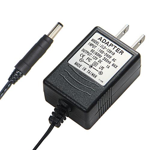 DC12V/1.0A變壓器 (內正外負)