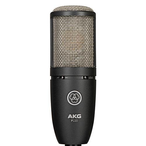 AKG P220 電容式大震膜麥克風