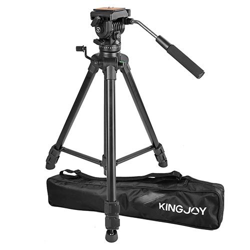 KINGJOY VT-1500錄影油壓三腳架套組