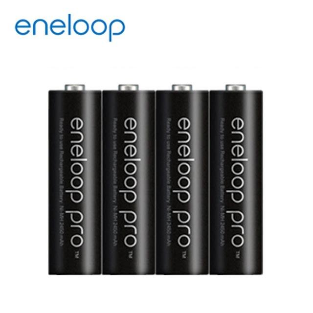 國際牌eneloop PRO低自放電 4 號鎳氫充電電池【4只裝】