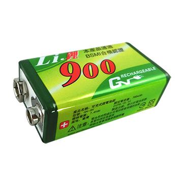 9V 鋰充電池