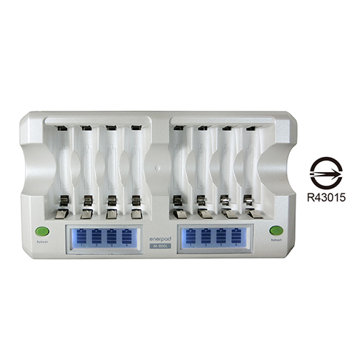 八座液晶顯示充電器