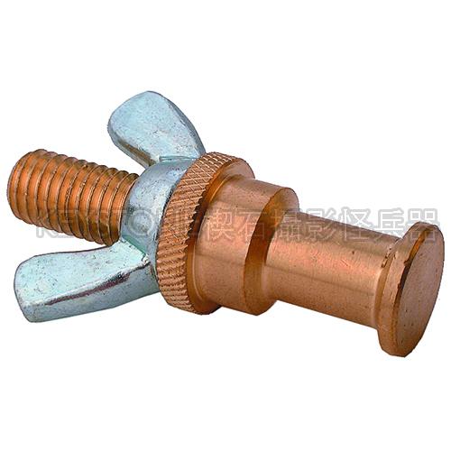 KUPO KS-018 16MM 銅製轉接頭附固定螺絲