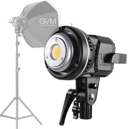 GVM 80W 白光 LED燈/燈架/八角柔光罩