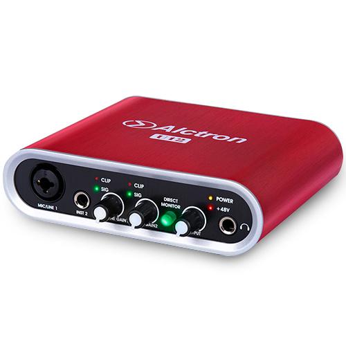 Alctron U12 高解析錄音介面(紅)