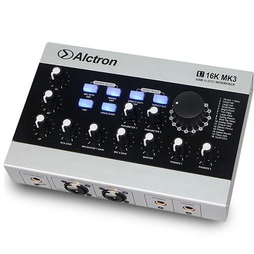 Alctron U16K MK3 即時特效錄音介面
