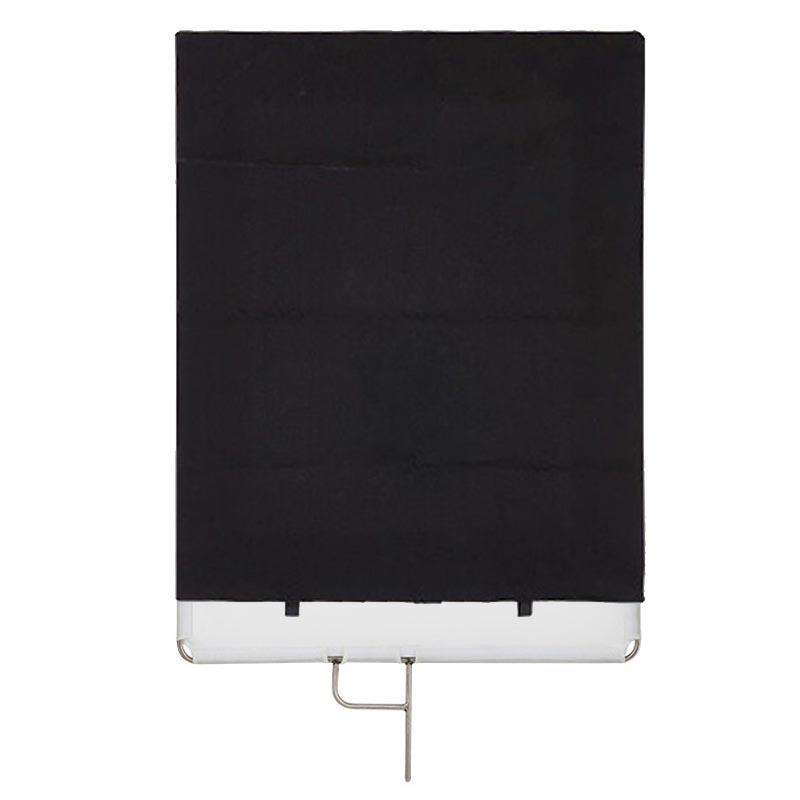SKIER不鏽鋼旗板框組75*90cm(柔光,遮黑)