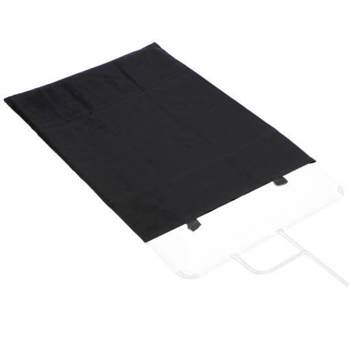 黑控光幕 for 不鏽鋼旗板框組75*90cm