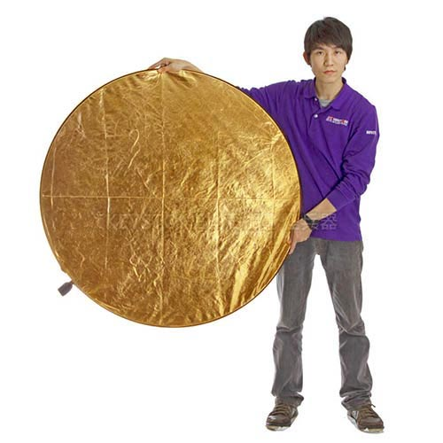 Keystone 107cm 5用反光板(金/白、艷陽/銀、透光)