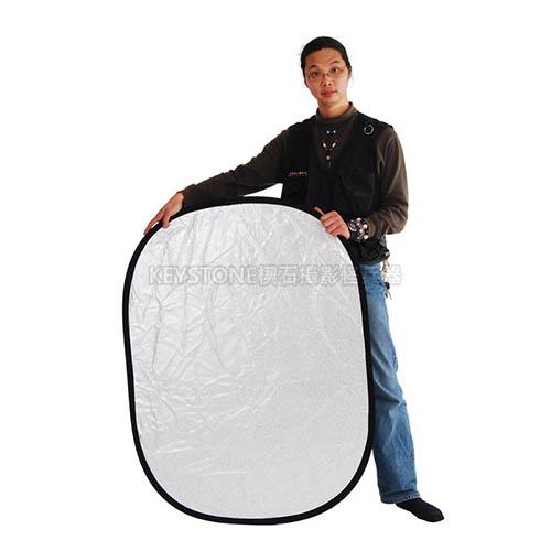 Keystone  92*122cm 顆粒銀白反光板