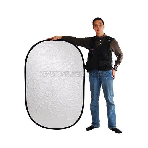 Keystone 102*153cm 顆粒銀白反光板