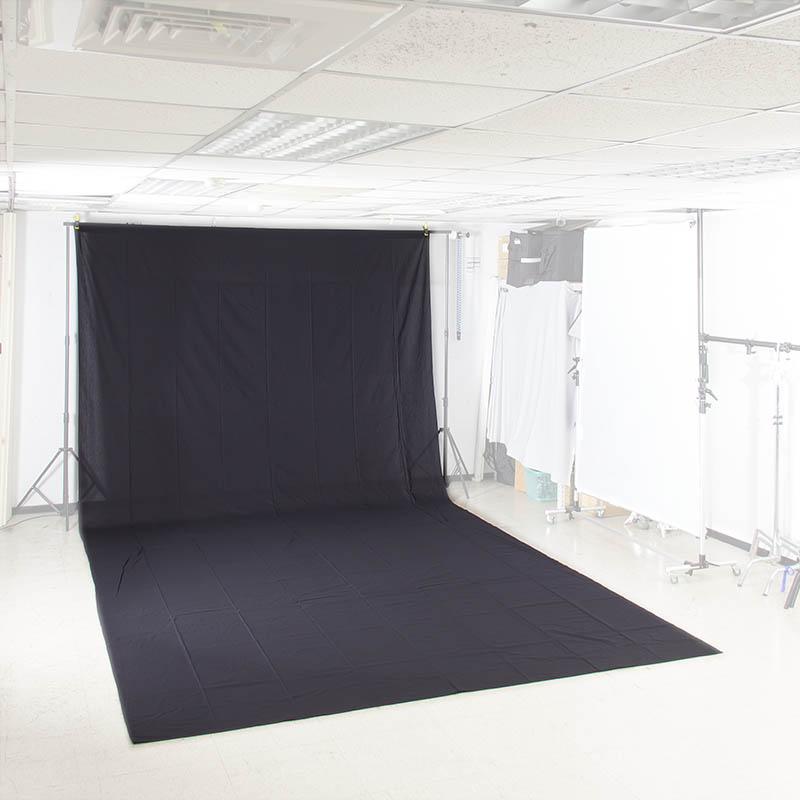 KEYSTONE 3*6m 加厚背景布(黑色)