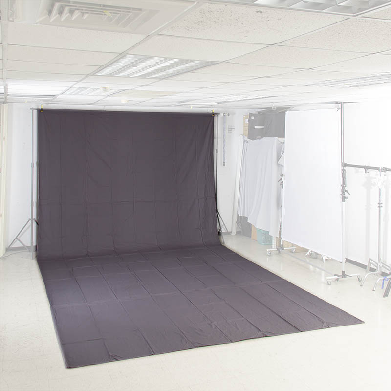 KEYSTONE 3*6m 加厚背景棉布(灰色)